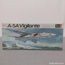 Maquetas: A-5A VIGILANTE REVELL ESCALA 1/82 NUEVO CAJA PRECINTADA1968. Lote 222333477