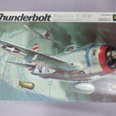 Maquetas: THUNDERBOLT REPÚBLICA P-47 D REVELL ESCALA 1/32 NUEVO, SIN MONTAR.. Lote 222333967