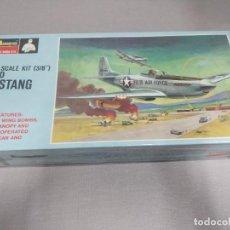 Maquetas: F-51D MUSTANG MONOGRAM , ESCALA 1/32 NUEVO SIN ABRIR.. Lote 222361766