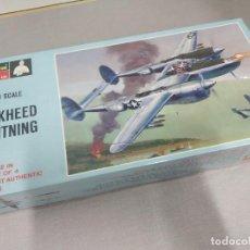 Maquetas: P-38 LOCKHEED LIGHTNING MONOGRAM , ESCALA 1/4 NUEVO SIN ABRIR.. Lote 222362127