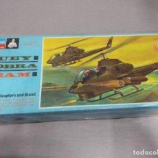 Maquettes: HUEY COBRA TEAM MONOGRAM , ESCALA 1/72 NUEVO.. Lote 222366190