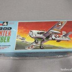 Maquetas: T-28D FIGHTER BOMBER MONOGRAM , ESCALA 1/48 NUEVO.. Lote 222366523