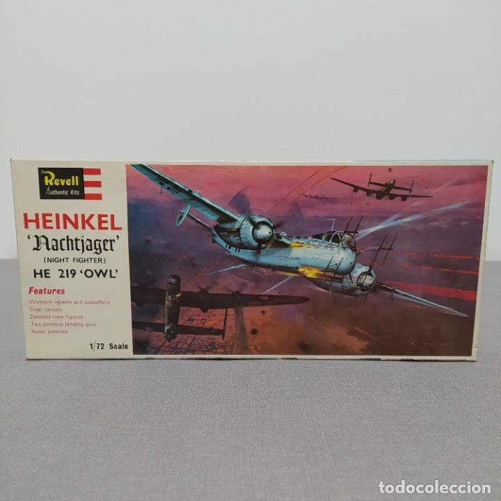 HEINKEL NACHTJAGER HE 219 OWL 1/72 REVELL. NUEVO Y COMPLETO. (Juguetes - Modelismo y Radio Control - Maquetas - Aviones y Helicópteros)