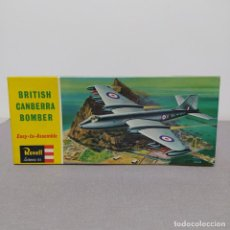 Maquetas: BRITISH CAMBERRA BOMBER 1/72 REVELL. NUEVO Y COMPLETO.. Lote 222479115