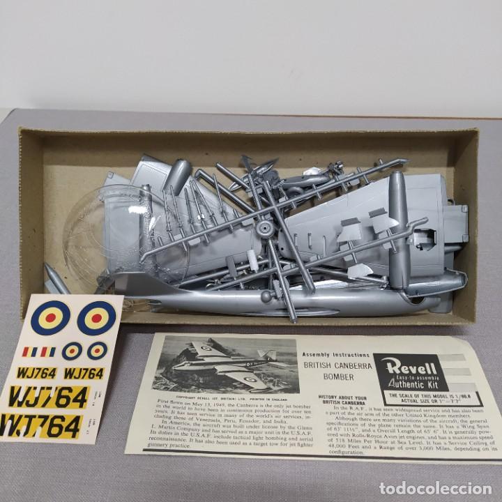 Maquetas: British Camberra bomber 1/72 Revell. Nuevo y completo. - Foto 2 - 222479115