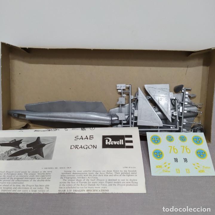 Maquetas: Saab j-35 dragón 1/72 Revell. Nuevo y completo. - Foto 2 - 222480058
