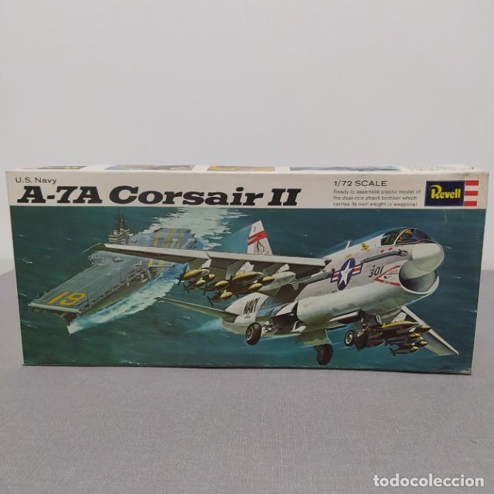 A-7A CORSAIR II 1/72 REVELL. NUEVO Y COMPLETO. (Juguetes - Modelismo y Radio Control - Maquetas - Aviones y Helicópteros)