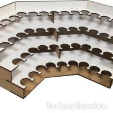 Maquetas: SCALE WAR - MODULO ORGANIZADOR DE PINTURAS DE ESQUINA PARA TODOS LOS MODELOS DEL MERCADO ORP002. Lote 222606708