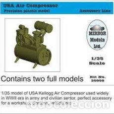 Maquetas: MIRROR MODELS - USA AIR COMPRESOR 1/35 35050. Lote 222674365