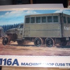 Maquetas: PST 1/72 WWII M16A MACHINE SHOP (US6 TRUCK) SEALED / SELLADO. Lote 222884561