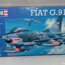 Maquetas: REVELL FIAT G.91 R3. ESCALA 1/72. NUEVO EN CAJA. PRECINTADO. REF 04370. NIVEL DIFICULTAD 3. 1999.. Lote 222928377