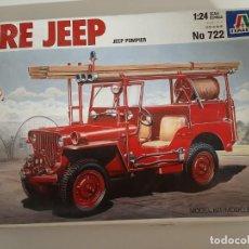 Maquetas: MAQUETA FIRE JEEP. Lote 223356072