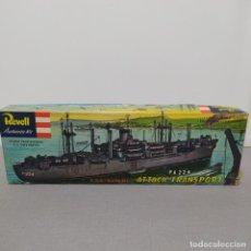 Maquetas: USS RANDALL PA 224 ATTACK TRANSPORT REVELL H.329 ESCALA 1/376 AÑO 1956. NUEVO Y COMPLETO. Lote 223916386