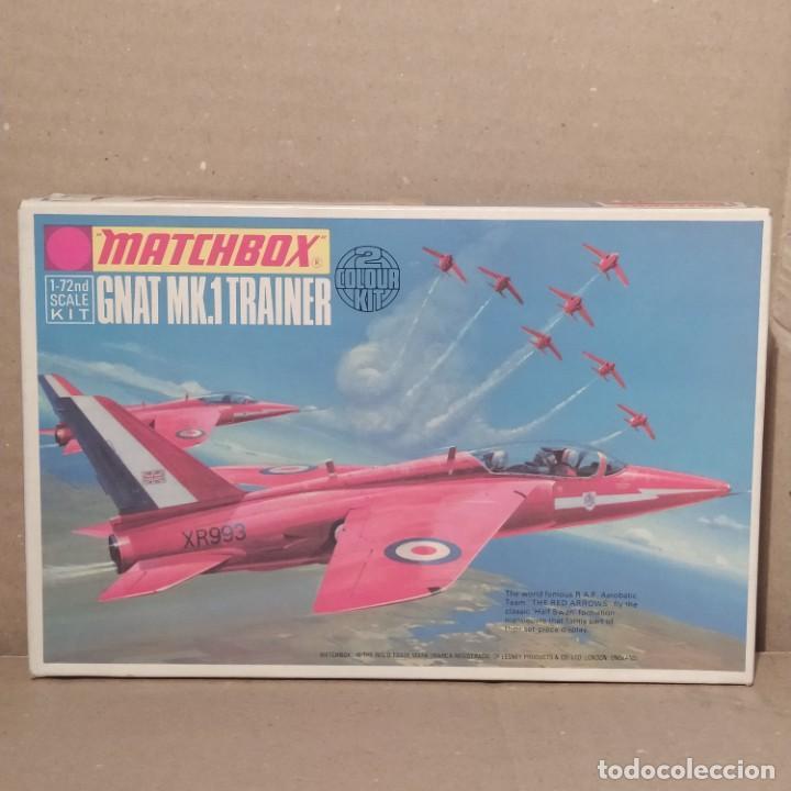 GNAT MK.1 TRAINER MATCHBOX ESCALA 1/72. PK-15. AÑO 1972. NUEVA (Juguetes - Modelismo y Radio Control - Maquetas - Aviones y Helicópteros)