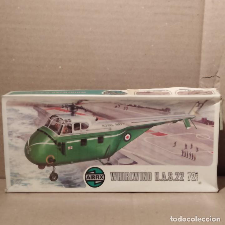 WHIRLWIND H. A. S. 22 AIRFIX ESCALA 1/72. NUEVO. (Juguetes - Modelismo y Radio Control - Maquetas - Aviones y Helicópteros)