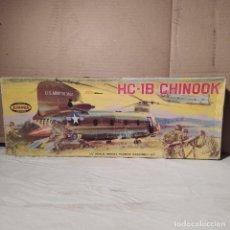 Maquetas: HC-1B CHINOOK AURORA 1/48. AÑO 1961. NUEVO Y COMPLETO. Lote 223996867
