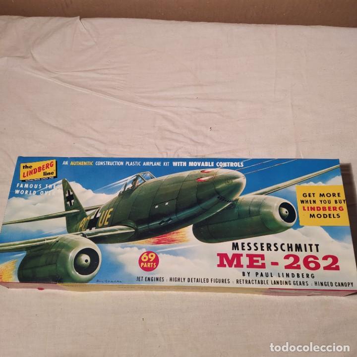 MESSERSCHMITT ME-262 LINDBERG 1/48. AÑO 1957. NUEVA Y COMPLETA (Juguetes - Modelismo y Radio Control - Maquetas - Aviones y Helicópteros)