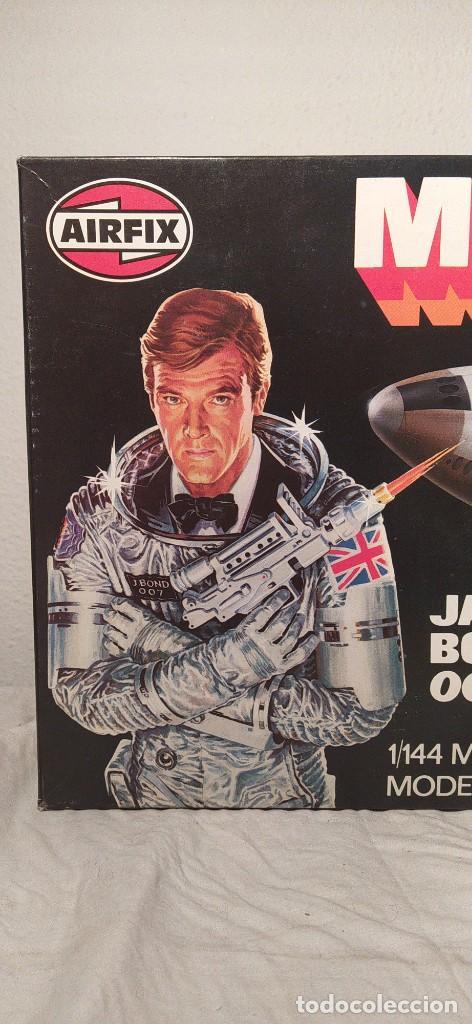 Maquetas: James Bond 007 Moonraker spaceship Airfix 1/144. Año 1979. Nuevo sin abrir. - Foto 2 - 224115703