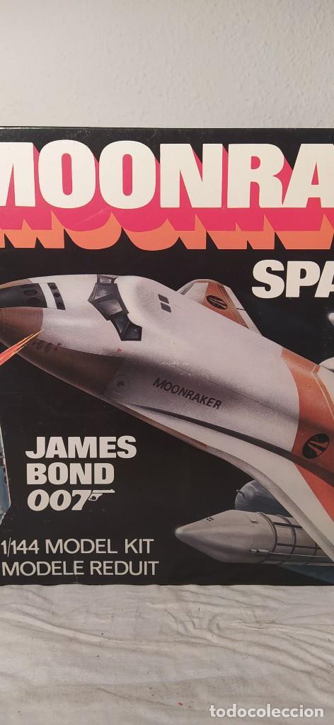 Maquetas: James Bond 007 Moonraker spaceship Airfix 1/144. Año 1979. Nuevo sin abrir. - Foto 3 - 224115703