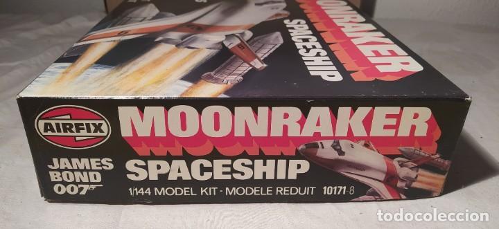 Maquetas: James Bond 007 Moonraker spaceship Airfix 1/144. Año 1979. Nuevo sin abrir. - Foto 7 - 224115703