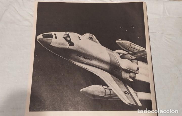 Maquetas: James Bond 007 Moonraker spaceship Airfix 1/144. Año 1979. Nuevo sin abrir. - Foto 15 - 224115703