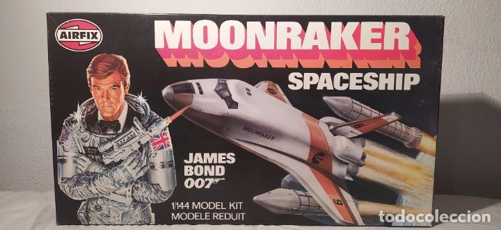 JAMES BOND 007 MOONRAKER SPACESHIP AIRFIX 1/144. AÑO 1979. NUEVO SIN ABRIR. (Juguetes - Modelismo y Radio Control - Maquetas - Aviones y Helicópteros)