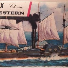Maquetas: PS GREAT WESTERN 1837 AIRFIX N°802 ESCALA 1/180. AÑOS 70. NUEVO. Lote 224121212