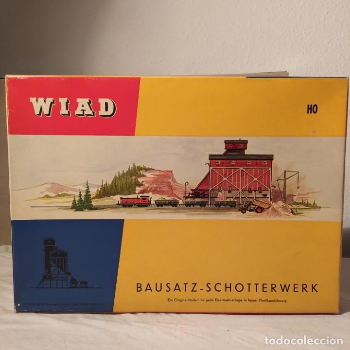 BAUSATZ-SCHOTTERWERK WIAD N° 302 B SCALE H0- 1/87. AÑOS 60.NUEVO SIN MONTAR. (Juguetes - Modelismo y Radiocontrol - Maquetas - Construcciones)