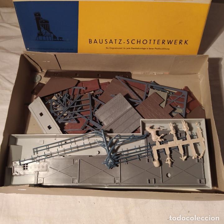 Maquetas: Bausatz-schotterwerk wiad n° 302 b scale H0- 1/87. Años 60.Nuevo sin montar. - Foto 6 - 288019273