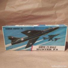 Maquetas: HUNTER F. 6 AIRFIX-72 SCALE N°288 AÑO 1964.2 JUEGOS DE CALCAS NUEVA, SIN MONTAR. Lote 224387852