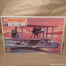 Maquetas: WALRUS MK-1 MATCHBOX 1/72 SCALE PK-105. AÑO 1974 .NUEVO. Lote 224529523
