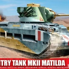 Maquettes: A01318 AIRFIX 1/76 INFANTRY TANK MKII MATILDA |. Lote 224547992