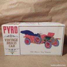 Maquetas: 1911 MERCER TOY TONNEAU PYRO VINTAGE BRASS CAR, NUEVO. Lote 224548811