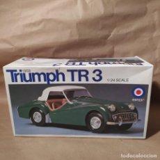 Maquetas: 1959 TRIUMPH TR 3 ENTEX 1/24 , NUEVO. Lote 224553077