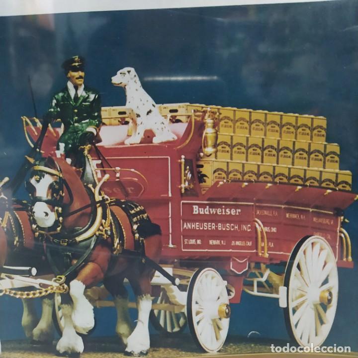 Maquetas: Budweiser Clydesdale 8 horse hitch escala 1/20 de AMT. Caja precintada - Foto 3 - 224606417