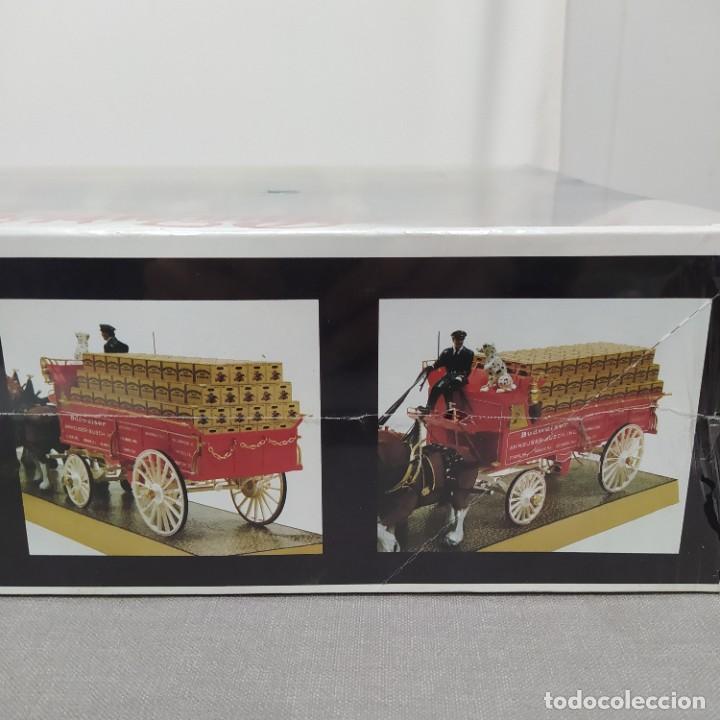 Maquetas: Budweiser Clydesdale 8 horse hitch escala 1/20 de AMT. Caja precintada - Foto 8 - 224606417