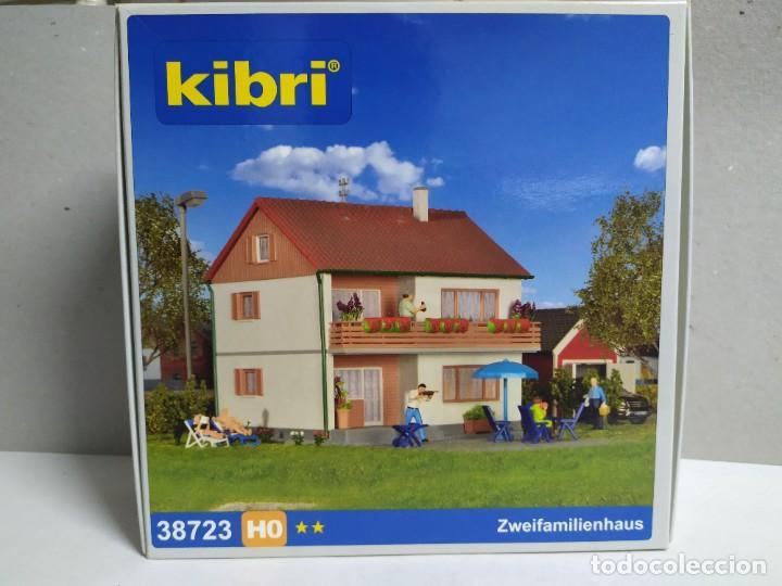 CASA FAMILIAR 2 PLANTAS , KIBRI 38723 , ESCALA HO (Juguetes - Modelismo y Radiocontrol - Maquetas - Construcciones)