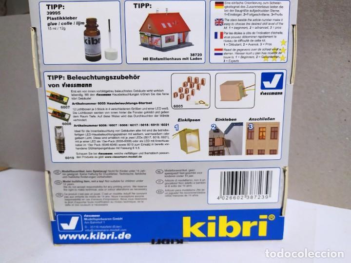Maquetas: Casa familiar 2 plantas , KIBRI 38723 , escala HO - Foto 4 - 254260575