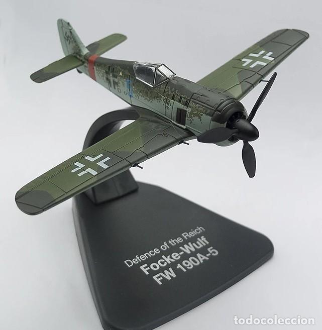 Maquetas: Modelo en metal a escala 1:72 del Focke Wulf FW190A-5, *Defensa del Reich* . Acabado de lujo. NUEVO - Foto 2 - 224795203