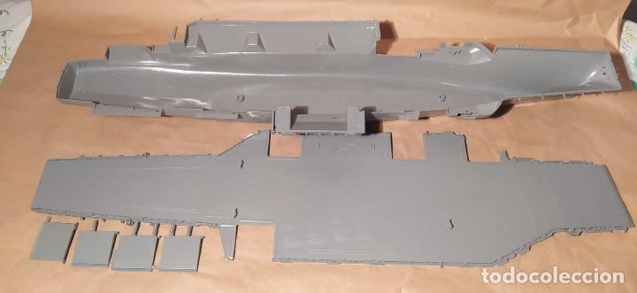 Maquetas: U.s.s. Saratoga Revell H-385. escala 1/570. Año 196x. Nuevo. Sin abrir - Foto 5 - 224927030