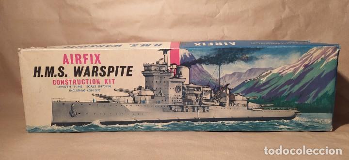 H.M.S WARSPITE AIRFIX F-405S ESCALA 1/600. AÑO 1963.NUEVO (Juguetes - Modelismo y Radiocontrol - Maquetas - Barcos)