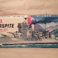 Maquetas: H.M.S WARSPITE AIRFIX F-405S ESCALA 1/600. AÑO 1963.NUEVO. Lote 224935896