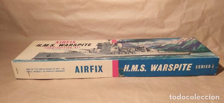 Maquetas: H.M.S Warspite AIRFIX f-405S escala 1/600. Año 1963.Nuevo - Foto 2 - 224935896