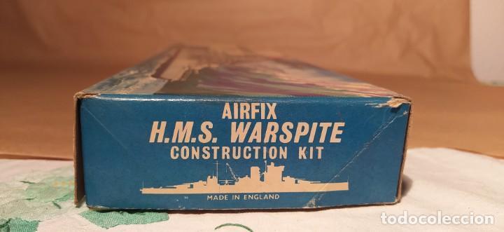 Maquetas: H.M.S Warspite AIRFIX f-405S escala 1/600. Año 1963.Nuevo - Foto 3 - 224935896