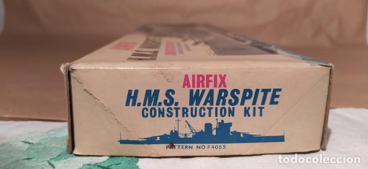 Maquetas: H.M.S Warspite AIRFIX f-405S escala 1/600. Año 1963.Nuevo - Foto 4 - 224935896