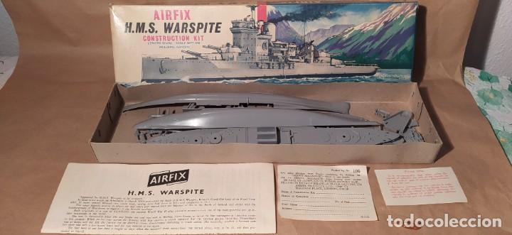 Maquetas: H.M.S Warspite AIRFIX f-405S escala 1/600. Año 1963.Nuevo - Foto 5 - 224935896