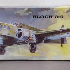 Maquettes: BLOCH 210 HELLER L-545 1/72 MUSÉE. SIN ABRIR. 45 CM DE LARGO.. Lote 224993880