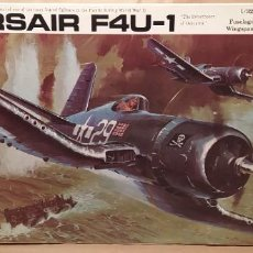 Maquettes: CORSAIR F4U-1 REVELL H-278 ESCALA 1/32. AÑO 1970. NUEVO. Lote 225052713
