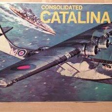 Maquetas: CONSOLIDATED CATALINA II A REVELL H-107 ESCALA 1/72. AÑO 1972. NUEVO, BOLSA PRECINTADA. Lote 225054031