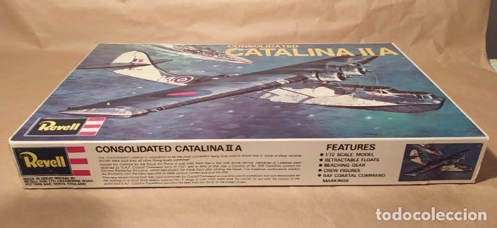 Maquetas: Consolidated Catalina II A Revell H-107 escala 1/72. Año 1972. Nuevo, bolsa precintada - Foto 2 - 225054031